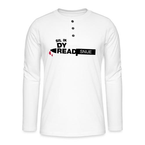 Read snije - Henley shirt met lange mouwen