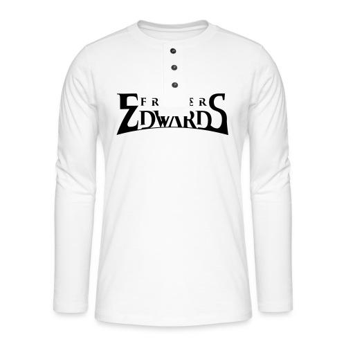 Fraser Edwards Men's Slim Fit T shirt - Henley long-sleeved shirt