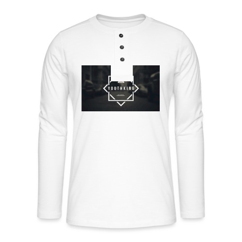 Youth King logo - Henley long-sleeved shirt