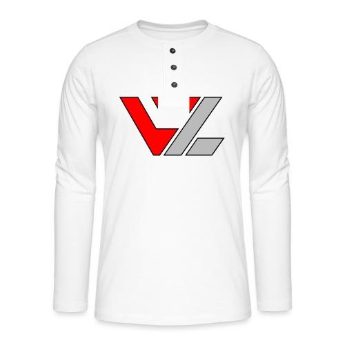 vusionZ   Peace - Henley Langarmshirt