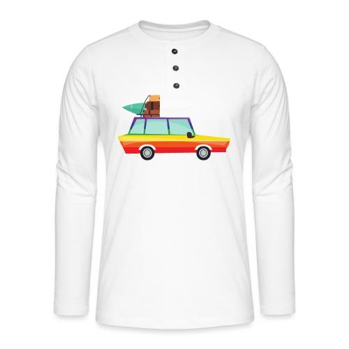 Gay Van   LGBT   Pride - Henley Langarmshirt