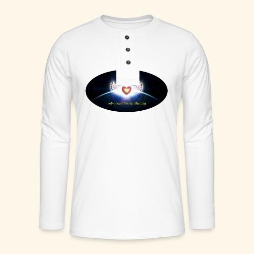 AMH Symbol - Henley Langarmshirt