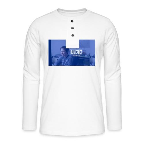 banner 3 jpg - Henley shirt met lange mouwen
