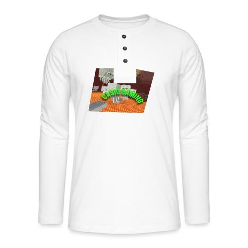 Logopit 1513697297360 - Henley shirt met lange mouwen