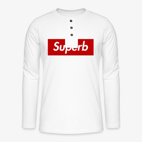 Superb - Henley Langarmshirt