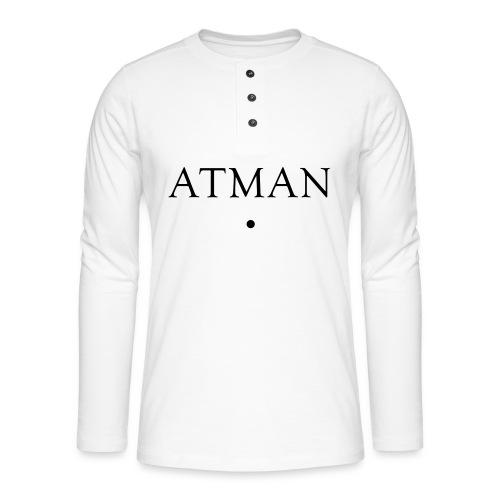 ATMAN - Henley Langarmshirt