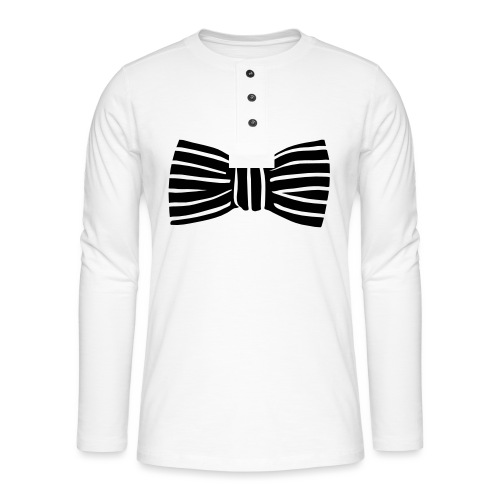 bow_tie - Henley long-sleeved shirt