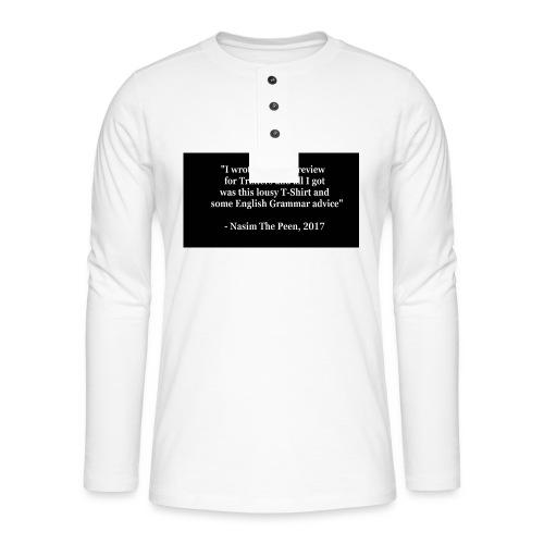 NasimPeen - Henley long-sleeved shirt