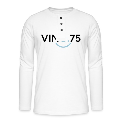VINO75 - Maglia a manica lunga Henley