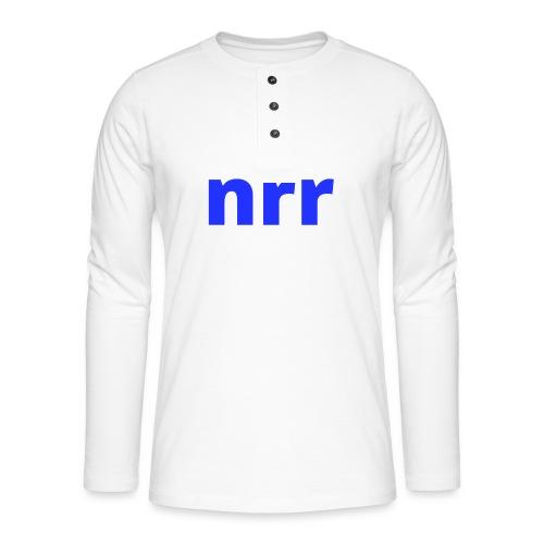 NEARER logo - Henley long-sleeved shirt