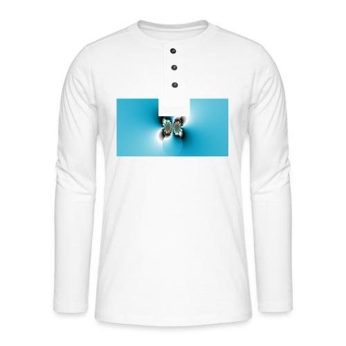 Fractal 4 - Henley long-sleeved shirt