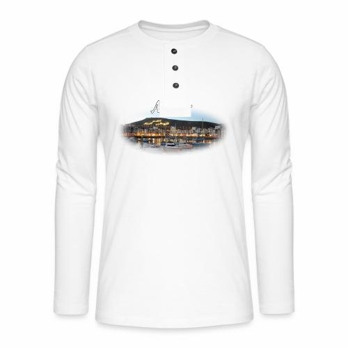 Agadir, Morocco - T-shirt manches longues Henley