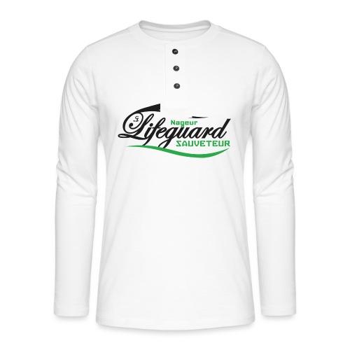 lifeguard NS - T-shirt manches longues Henley