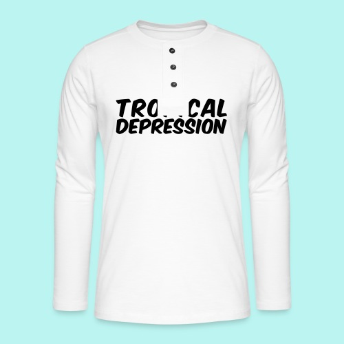 Tropical Depression - Henley Langarmshirt