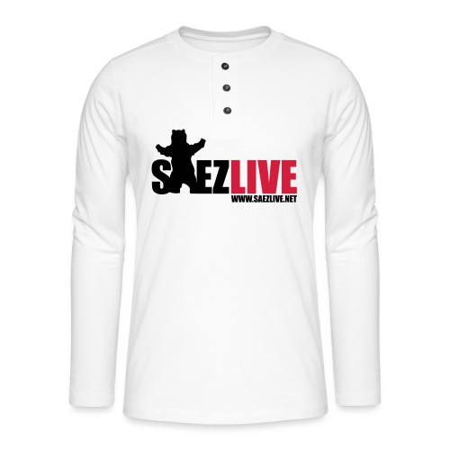 OursLive (version dark) - T-shirt manches longues Henley