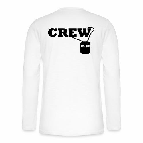 KON - Crew - Henley Langarmshirt