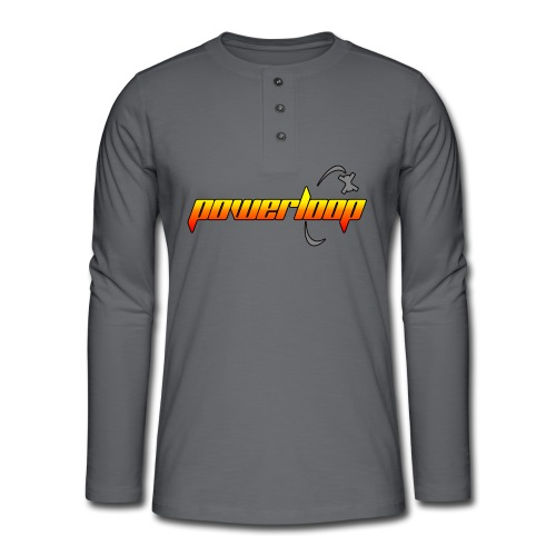 Powerloop - Henley long-sleeved shirt