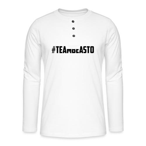 #TeamBeasto Best-Sellers - Henley long-sleeved shirt