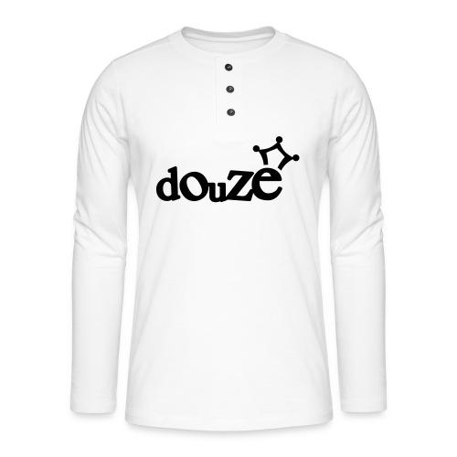 logo_douze - T-shirt manches longues Henley