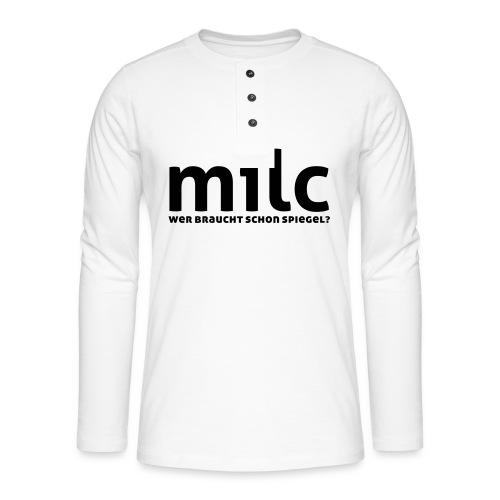 milc - Henley Langarmshirt