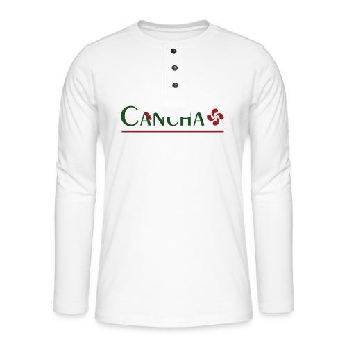 Cancha - T-shirt manches longues Henley
