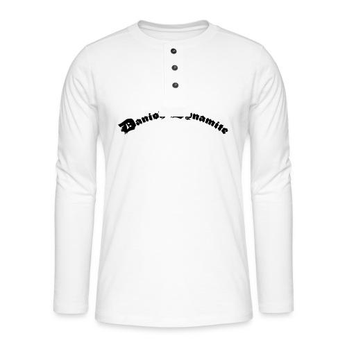 Danish Dynamite - Henley T-shirt med lange ærmer