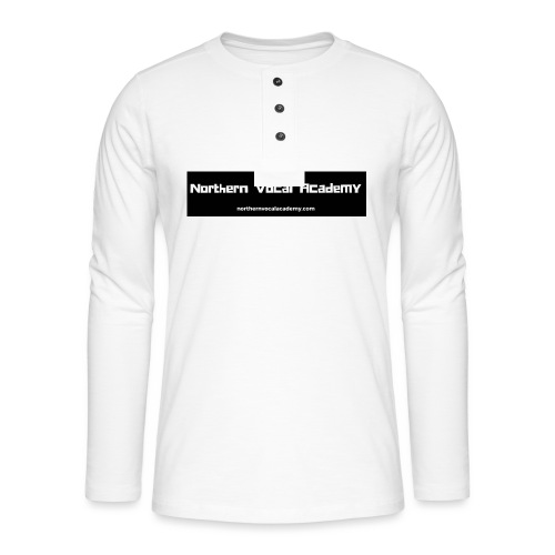 Northern Vocal Academy Logo - Henley long-sleeved shirt
