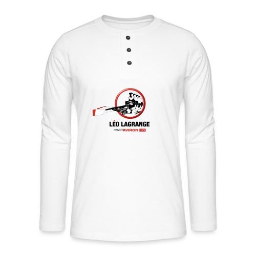 Léo Lagrange Nantes Aviron - T-shirt manches longues Henley