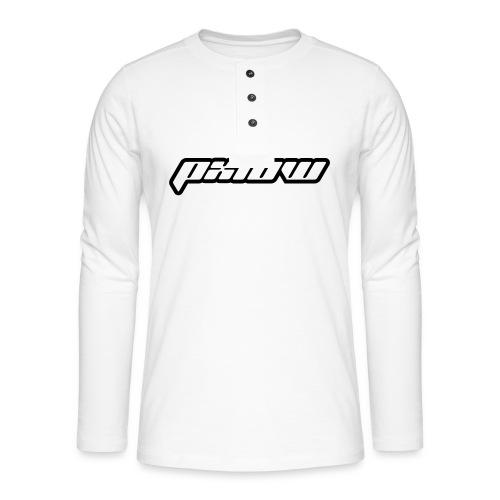 px10w2 - Henley shirt met lange mouwen