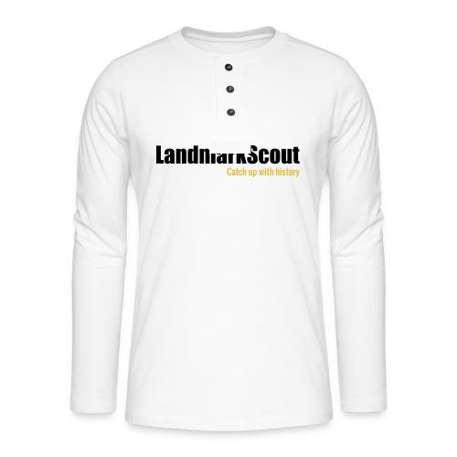Tshirt White Back logo 2013 png - Henley long-sleeved shirt