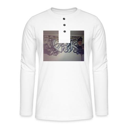 Værebro - Henley T-shirt med lange ærmer