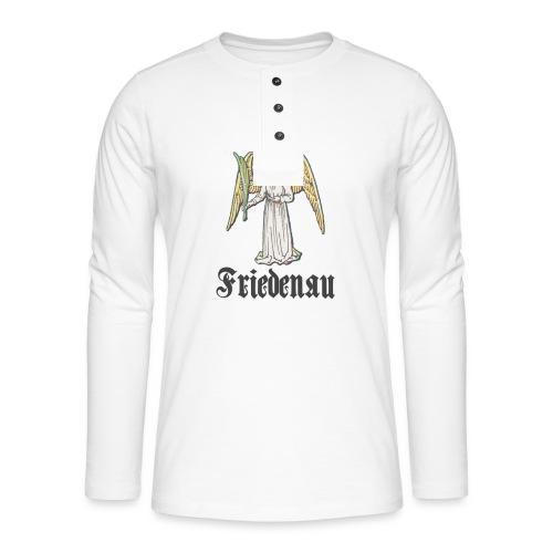 friedenau_wappenalt_dark - Henley Langarmshirt