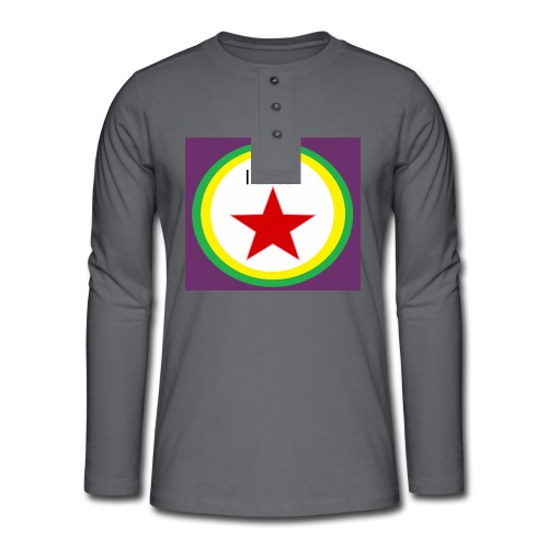 I'm a STAR! - Henley long-sleeved shirt