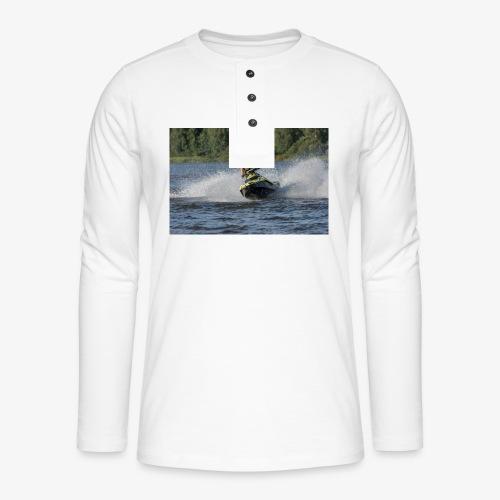 Larse Jetski - Henley pitkähihainen paita