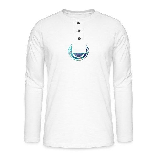 Official SKEJAZ Band Logo - Henley long-sleeved shirt