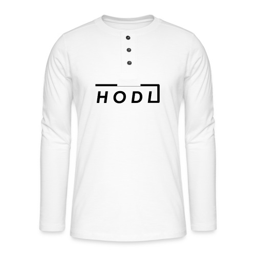 Hodl - Henley long-sleeved shirt
