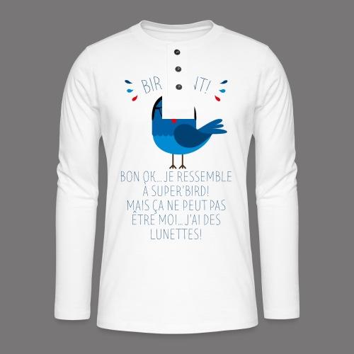 Bird Kent - T-shirt manches longues Henley