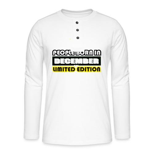 DECEMBER CRAZY LEGEND - Henley long-sleeved shirt