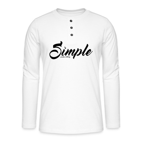 Simple: Clothing Design - Henley long-sleeved shirt