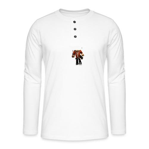 Alexhill2233 Minecraft - Henley long-sleeved shirt