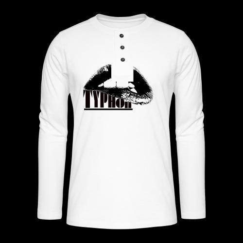 Typhon Original Logo - Henley long-sleeved shirt