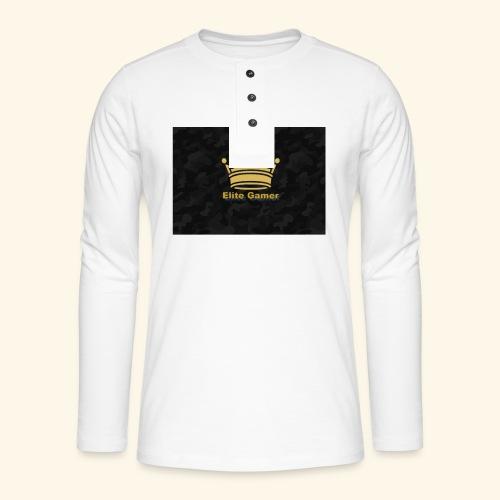 youtube design - Henley long-sleeved shirt