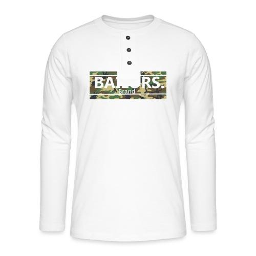 Bailors. camo pattern - Henley shirt met lange mouwen