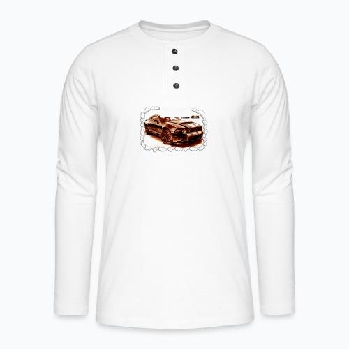 voiture - T-shirt manches longues Henley