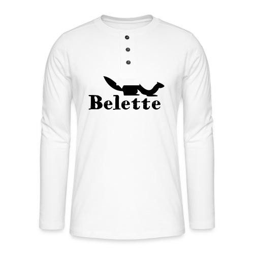 T-shirt Belette simple - T-shirt manches longues Henley