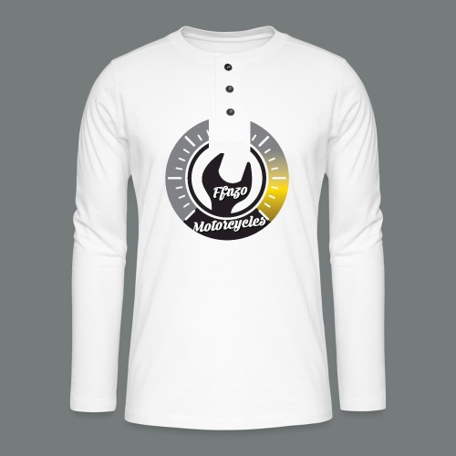 FFNZOMOTORCYCLES - T-shirt manches longues Henley