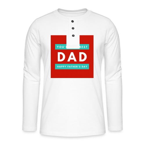 DAD day - T-shirt manches longues Henley