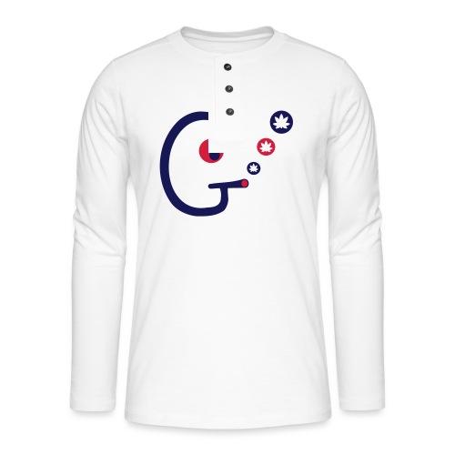 Ganjahead - Henley long-sleeved shirt