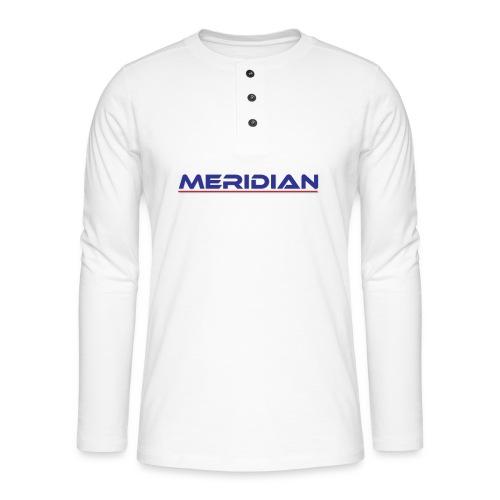 Meridian - Maglia a manica lunga Henley