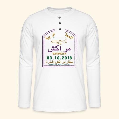 marrakeche - T-shirt manches longues Henley